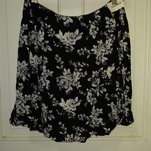 Aeropostale Bethany Moda floral skirt NWT